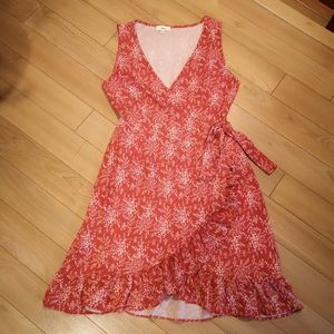 🔥3/25🔥Cheap Tie Wrap Floral Tie Sundress